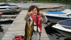 kid with fish 2