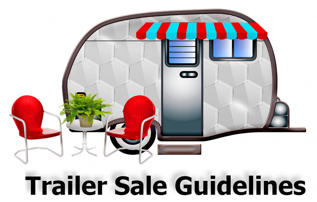 Trailer Sale Guidelines